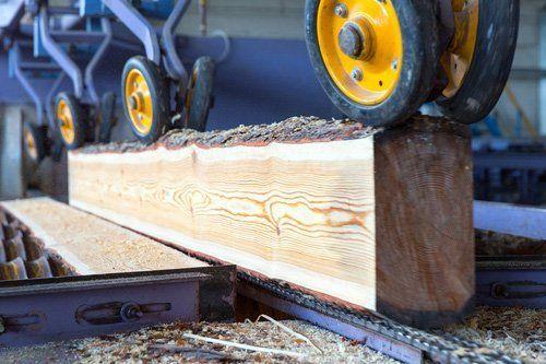 macchina per segare legna