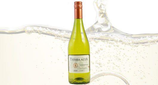 Chile wine bottle