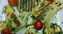 verdure pesce grigliati
