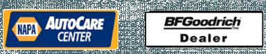 Napa Autocare and BFGoodrich logos