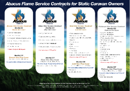 Service contracts for static caravan owners