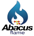 Abacus flame logo
