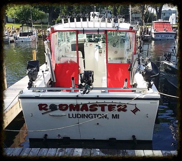 Rodmaster Fishing Charter boat Ludington MI