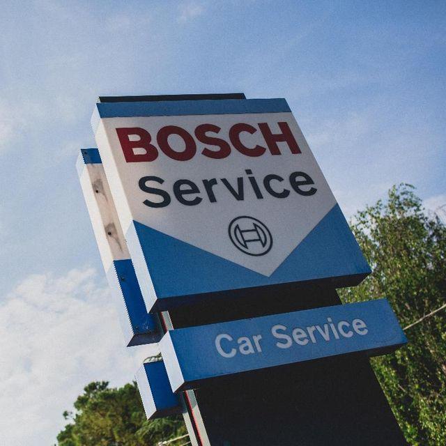Logo della casa Bosch come partner