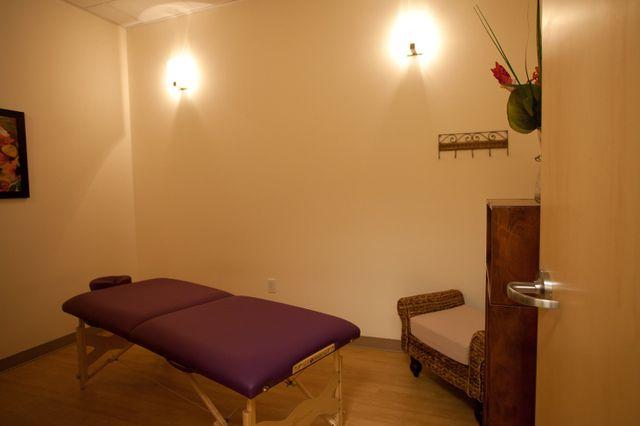 Pilates Denver massage and reflexology room