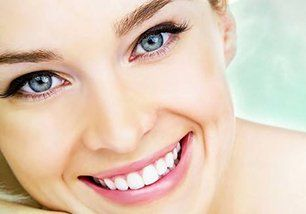 Smiling Woman Close-Up, Cosmetic Dentistry in Mooresville NC