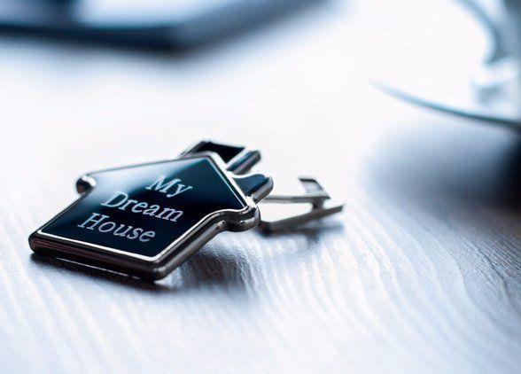 my dream house key ring