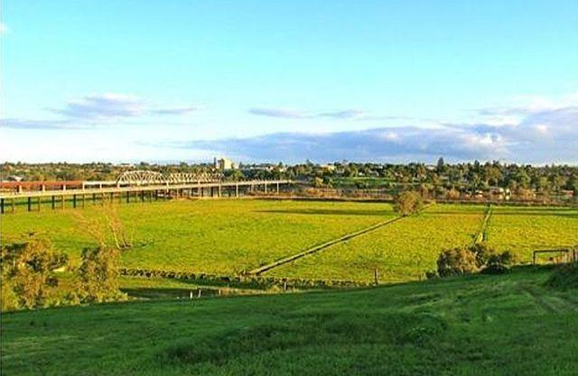 murray bridge region view from a hill