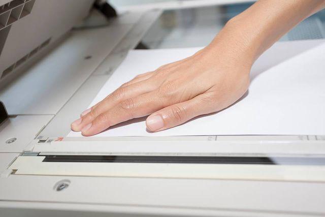 utilizzo fotocopiatrice