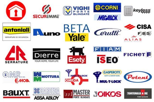 loghi di diverse aziende