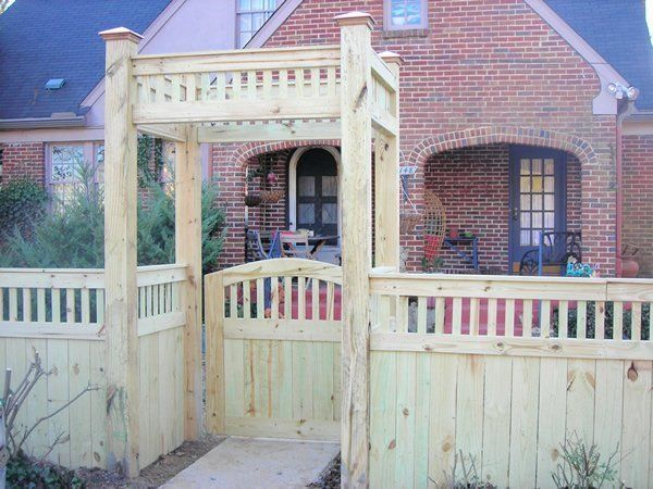 Picket Fence Nashville Amp Murfreesboro Tn Clean Cut Fence