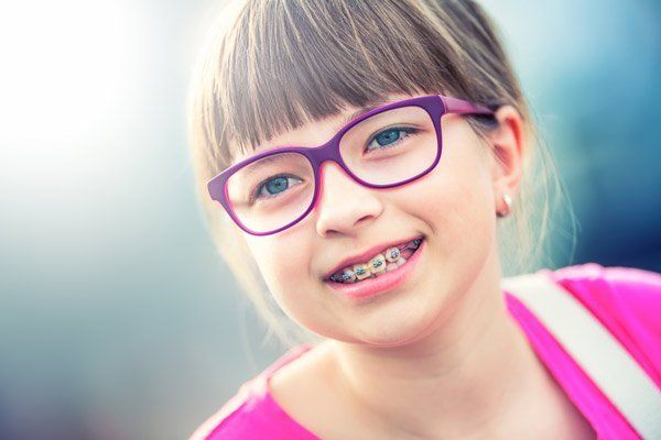 A young patient of one of our orthodontists in Dandenong