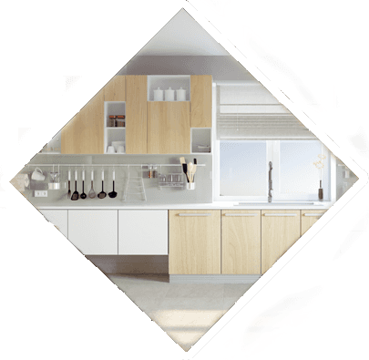 modern kitchen interior  diamond icon