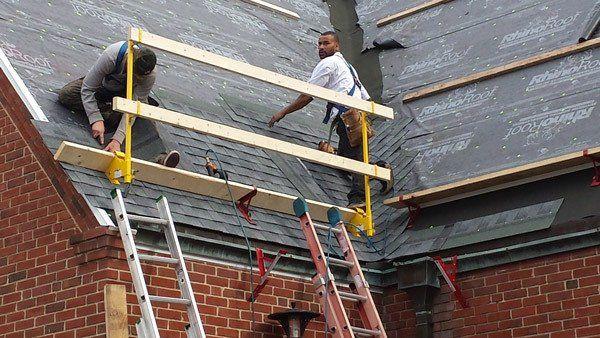 Professional installing flat roof in Waynesboro, VA