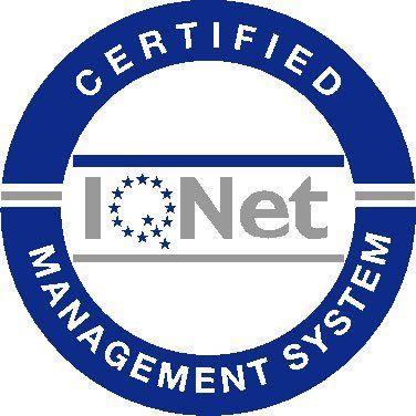 logo IQNET managment certificato