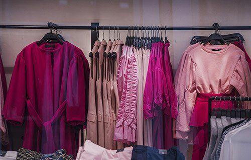 negozo di abbigliamento da donna