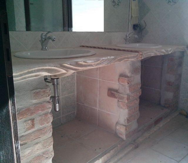 Parapetto per interni in marmo e granito