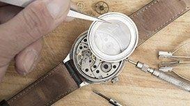 sostituzione vetro orologio