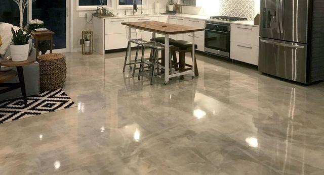 Georgia Kitchen Floor Coating Epoxy Kitchen Floors Residential Floor Coating