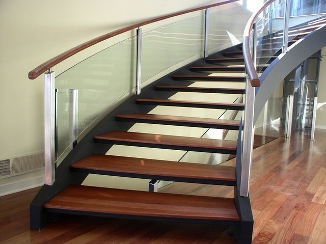 Curved Staircases Innovative Metalcraft