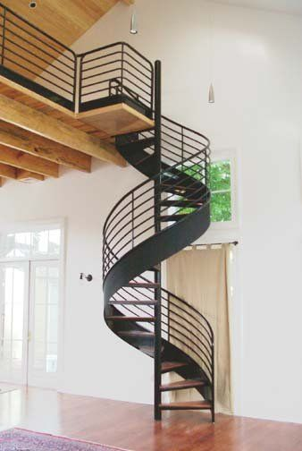 Deco Spiral Staircases | Innovative Metalcraft
