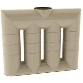 1050-litre-slimline-poly-water-tank-adelaide