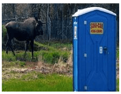 Portable toilet rentals in North Pole, AK