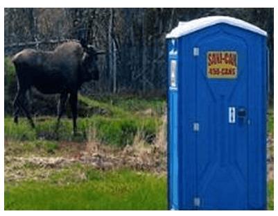 Portable toilet rentals in North Pole, AK