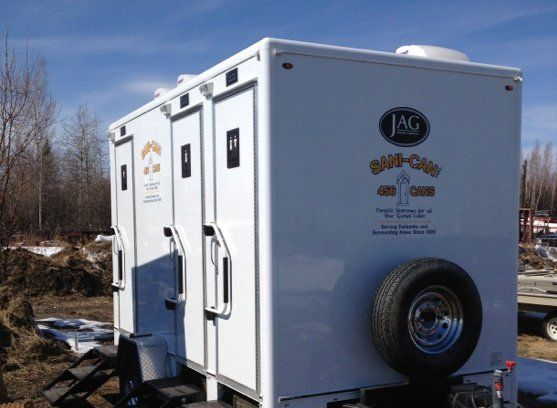 One of our restroom rentals in Fairbanks North Star Borough, AK