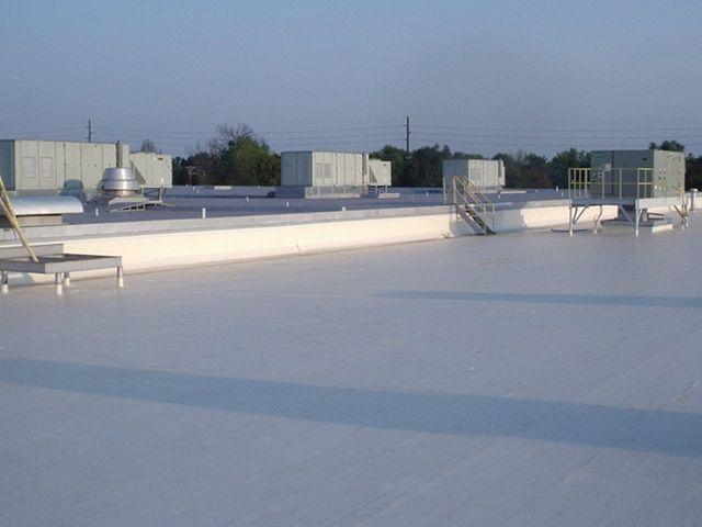 Commercial Rood Damage Spray Foam Roofing Osment Roofing