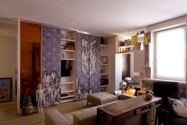 salotto arredato con divani e sofa a Segrate, MI