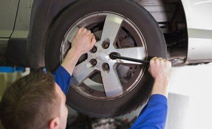 incorrect wheel alignment