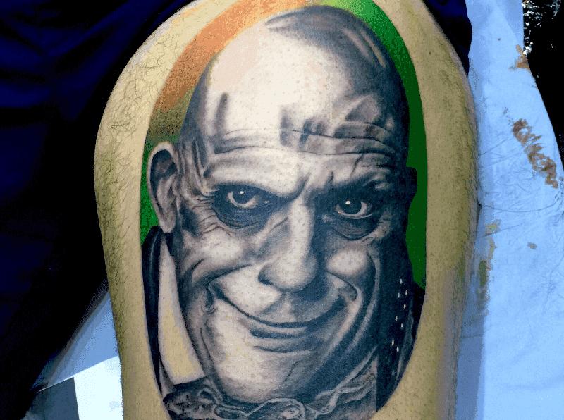Tattoo done