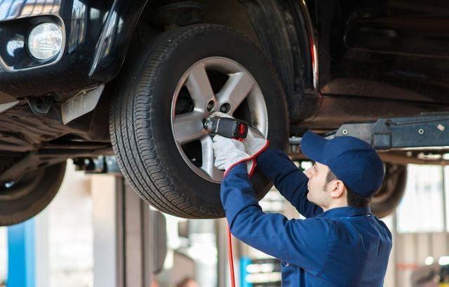 car tyre wheel repair