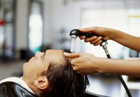 Mens' hair