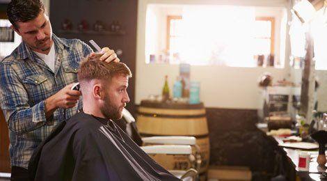hair trimming salon