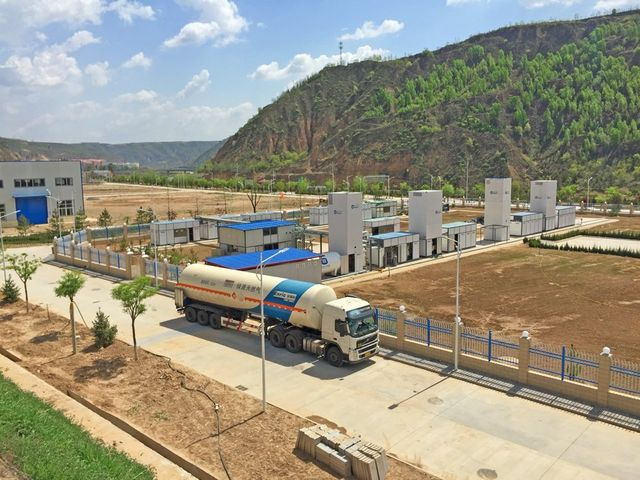 Mini LNG Plants small scale liquefied natural gas solution