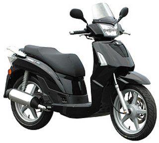 scooter nero