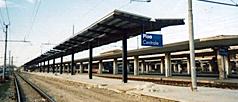 Pensilina stazione ferroviaria