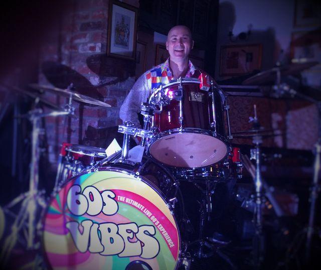 Chris – Dr Groove – drummer