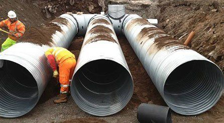 Drain pipe installations