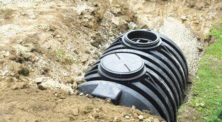 Underground rainwater harvesters