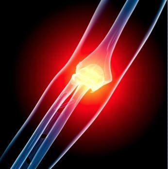 Elbow with arthroscopic problem