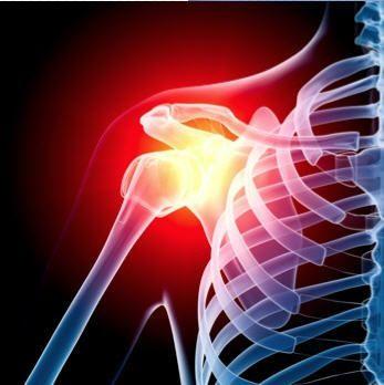 Shoulder with arthroscopic problem