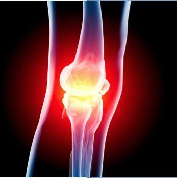 Knee with arthroscopic problem
