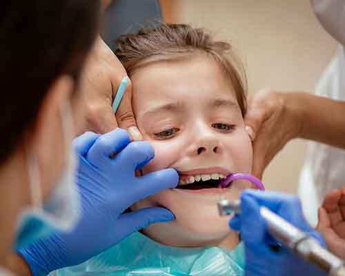 chirurgia orale infantile