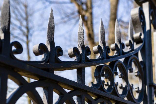 particolare di un cancello