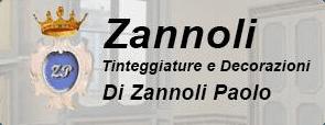 TINTEGGIATURE E DECORAZIONI ZANNOLI di PAOLO ZANNOLI - LOGO