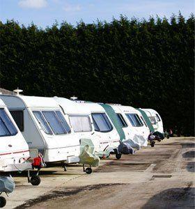 Motor home storage - Clapham, Bedfordshire - Calver's Caravan Storage - Caravan