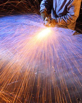 Metal fabrication - Cambridge - Camlan Engineering Ltd - Metal cutting